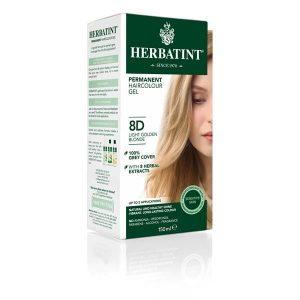 Herbatint 8D Louro Claro Dourado Gel Colorante Capilar 150ml