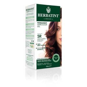 Herbatint 5R Castanho Claro Acobreado Gel Colorante Capilar 150ml