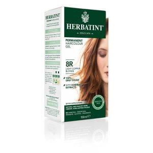 Herbatint 8R Louro Claro Acobreado Gel Colorante Capilar 150ml