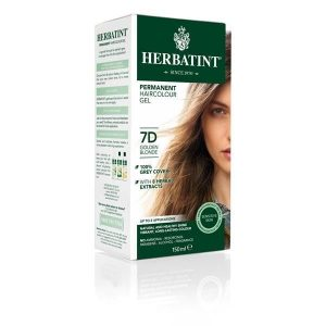 Herbatint 7D Louro Dourado Gel Colorante Capilar 150ml