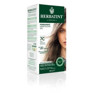 Herbatint 7C Louro Cinza Gel Colorante Capilar 150ml