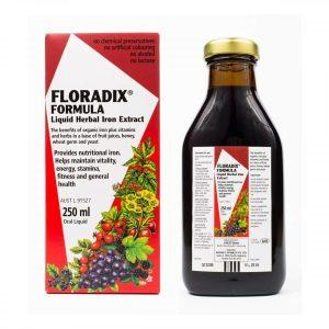 Floradix Elixir Fórmula Líquida com Ferro 250 ml