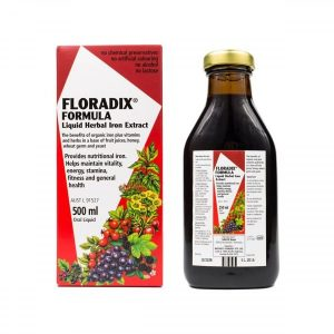 Floradix Elixir Fórmula Líquida com Ferro 500 ml