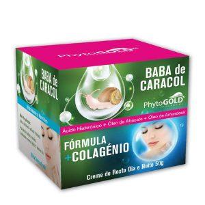 Phytogold® Creme de Rosto Baba de Caracol Fórmula + Colagénio 50g