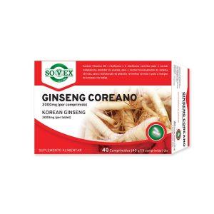 Ginseng Coreano 2000mg 40 comprimidos