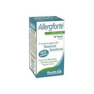 HealthAid Allergforte 60 comprimidos