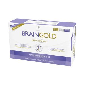 Braingold 30 ampolas 10ml