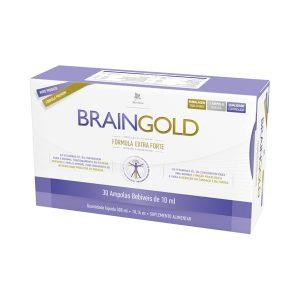 Braingold 30 ampolas 10ml