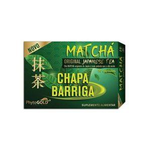 Phytogold® Matchá Chapa Barriga 30 cápsulas