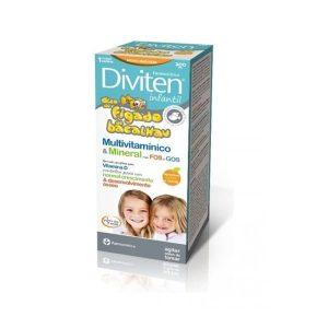 Farmodiética Diviten® Infantil Óleo de Fígado de Bacalhau 300 ml