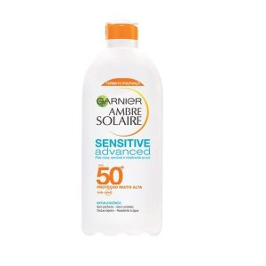 Garnier Ambre Solaire Leite Sensitive Advanced Formato Poupança FPS50+ 400ml