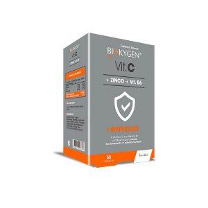Biokygen Vit. C + Zinco + Vit. B6 60 Cápsulas