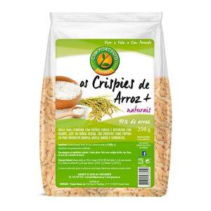Cem Porcento Crispies de Arroz + Naturais 250g