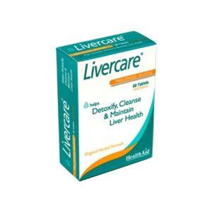 HealthAid Livercare® 60 comprimidos Libertação Prolongada