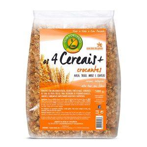 Cem Porcento Muesli 4 Cereais Crocantes 500g
