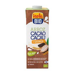 IsolaBio Bebida de Arroz, Cacau e Quinoa 1L